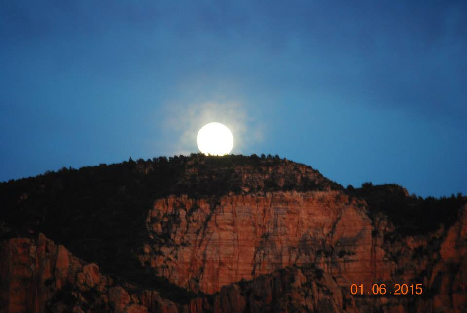 Strawberry Moon Sedona Arizona
