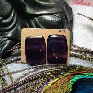 Fluorite Crystal Earrings #7