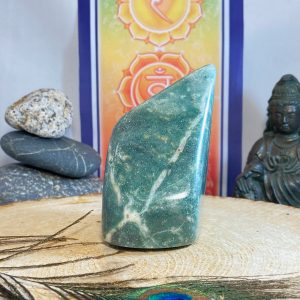 GREEN AVENTURINE FREE FORM DISPLAY