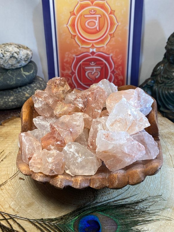 Fire Quartz Natural Crystal