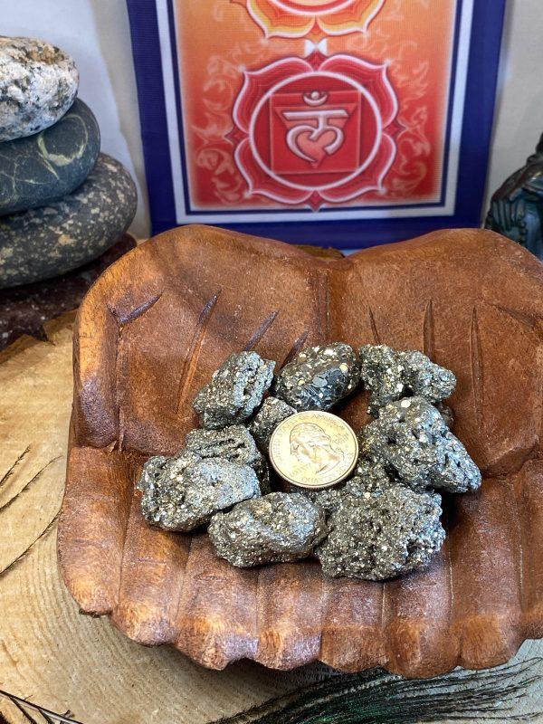 Pyrite nuggets
