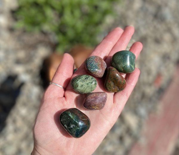 Bloodstone Tumble Crystals