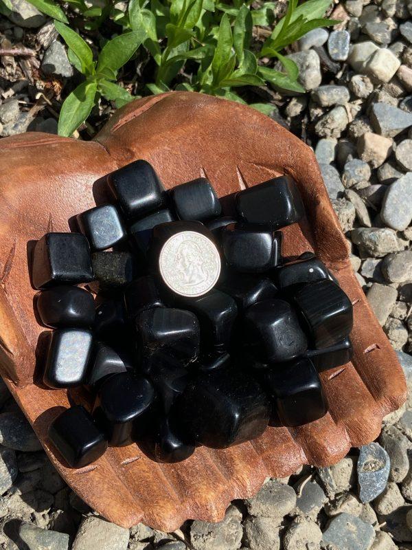 Rainbow Obsidian Tumble Crystal