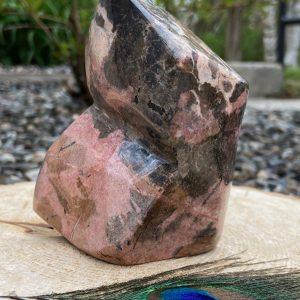 Rhodonite Free Form Display