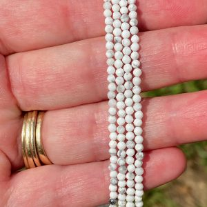 Howlite Faceted Necklace